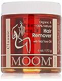 MOOM 100% Organic Tea Tree Hair Removal Kit For All Skin Types