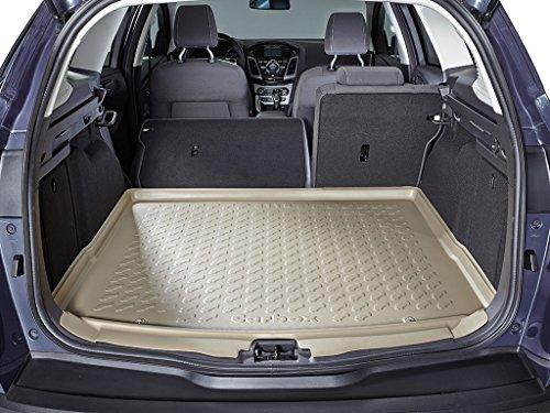 Fussmatten-Deluxe Kofferraumwanne beige inklusive Multimatte Hinweise beachten