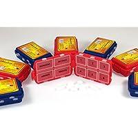 Unbekannt Pillendose 6 Stück Pillenbox Tablettendose Tablettenbox Medikamentendose Medikamentenbox 182 preisvergleich bei billige-tabletten.eu