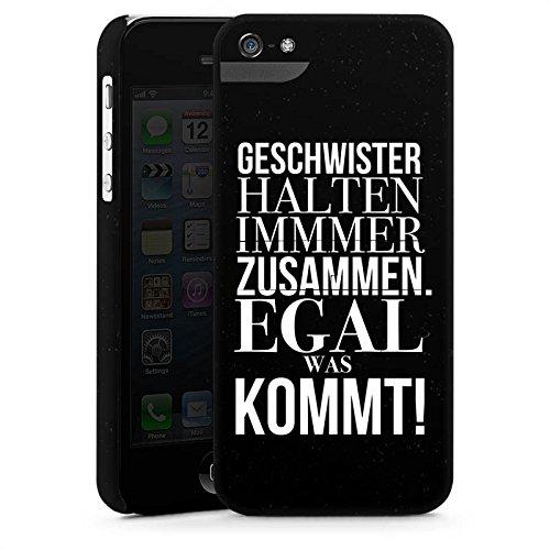 Apple iPhone 6s Silikon Hülle Case Schutzhülle Geschwister Schwester Sprüche Premium Case StandUp