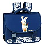 LAPINS CRETINS Graffiti Cartable, 36 cm, 15 L, 2 compartiments Bleu