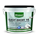 Ultrament Easy Dicht 1 K Reaktivabdichtung Abdichtung 10 kg, Außenabdichtung einkomponentig Neuheit