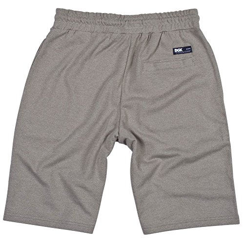DGK Men's Stadium Fleece Short Gray