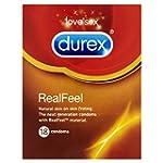 Durex Real Feel Condoms (Pack of 18)
