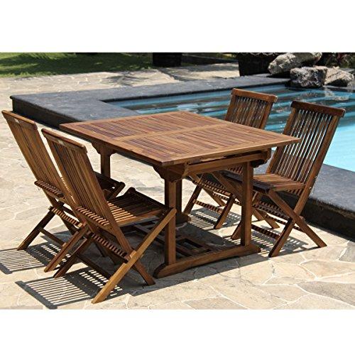 table en bois salon de jardin – Meilleures ventes boutique pour ...