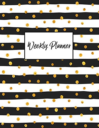 Weekly Planner: Daily, Weekly and Monthly Planner | September 2018 - August 2019 por Pretty Planners