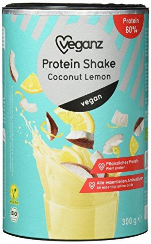 Veganz BIO Protein Shake Coconut Lemon, 2er Pack (2 x 300 g)