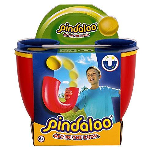 pindaloo Offizielles Jonglier-Geschicklichkeitsset (Tube & Ball) (Rot)