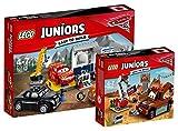 LEGO Juniors 10743–smokeys Garage Juniors 10733–Hooks chatarra Espacio, Auto de juguete, Juguete para Niños