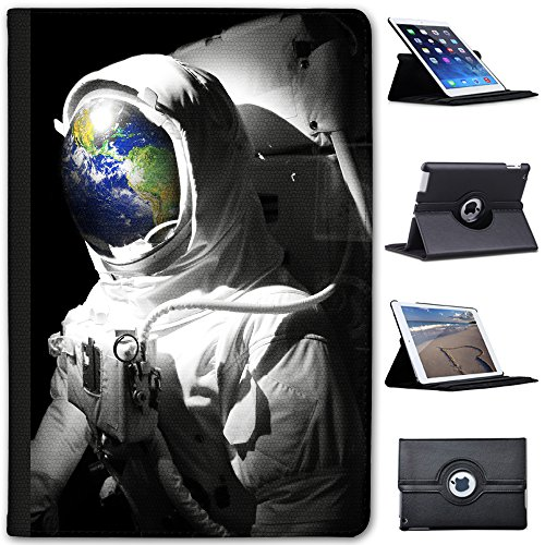 Astronautenanzug & Spiegelbild der Erde Case Cover / Folio aus Kunstleder für das Apple iPad Mini 4
