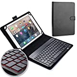 ABOUTTHEFIT Universal 10'' Tablet Keyboard Leather Case, Lenovo Tab 4 10 Plus Keyboard