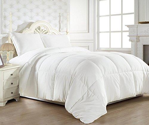 Ahmedabad Cotton Ultra-Plush Microfibre Double Comforter - White