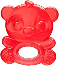 Playgro Cool Panda Water Teether, Red