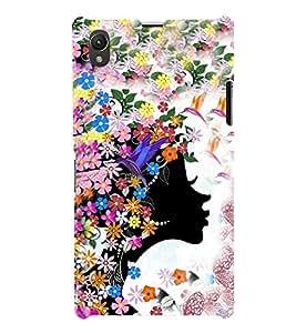 PrintVisa Graffiti Girly 3D Hard Polycarbonate Designer Back Case Cover for Sony Xperia Z1 :: Sony Xperia Z1 Honami :: Sony Xperia Z1 C6902/L39h :: Sony Xperia Z1 C6903 :: Sony Xperia Z1 C6906 :: Sony Xperia Z1 C6943
