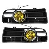 Fog Light, Faway giallo nebbia anteriore LED lampada della luce inferiore Grille per 98–04VW Golf Mk4