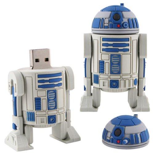 Star Wars R2D2 Roboter 2 GB Speicherstick USB Stick 2.0 Flash Drive Gadged Excl. von WoC ©
