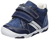 Geox B New Balu' D, Sneakers Basses Bébé Garçon, Bleu (Navy/Avio), 24 EU