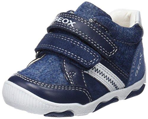 Geox Baby Jungen B New Balu' Boy D Sneaker, Blau (Navy/Avio), 19 EU (Baby Schuhe Boy)