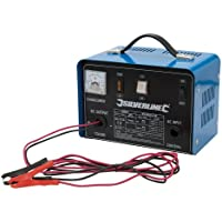 Silverline 268317 Battery Charger 12/24 V for 12-70 Ah Batteries preiswert