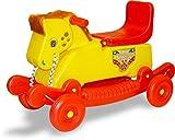 #5: Akshat 2 in 1 Horse Rocker Cum Ride On Toy for Kids - Multi Color