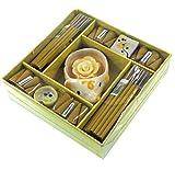 Guru-Shop Incienso Conjunto Fragancia XL Citronella, 2x15x15 cm, Varitas de Incienso de Tailandia