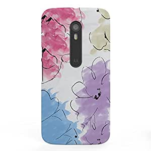 Koveru Designer Printed Protective Snap-On Durable Plastic Back Shell Case Cover for Motorola Moto X Style - Kasumi Art