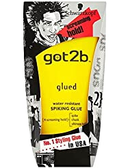 Schwarzkopf Got2b collé Styling Smasher colle résistant à l'eau (150 ml) - Paquet de 6