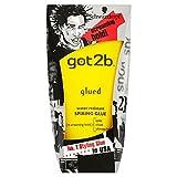 Schwarzkopf Got2b Glued Styling Schmettern Kleber Wasserdicht (150 ml) - Packung mit 6