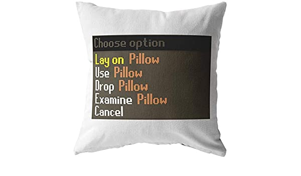 CELYCASY Runescape 18x18 Pillow Gaming