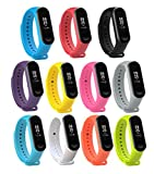 Dingtool for Xiaomi Mi Band 3 Armband, Ersatzband Bracelet Handgelenk Band für Xiaomi Mi Band 3 Ersatz-Zubehör(Nicht für Xiao Mi Band 1S/Mi Band 2S) (color6)