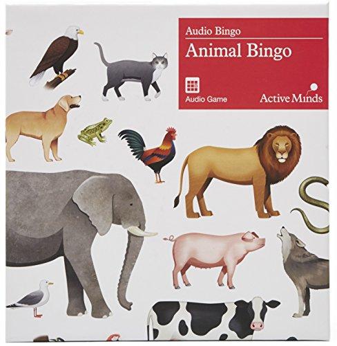 Puzzle für Demenzkranke - Animal Bingo