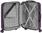 Packenger Velvet Koffer, Trolley, Hartschale  3er-Set in Lila, Größe M, L und XL - 9