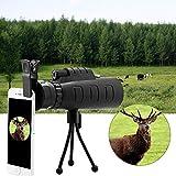 Fyugo™ Mobile Lens 40x60 hd Monocular Telescope with Mini Tripod and Mobile Camera