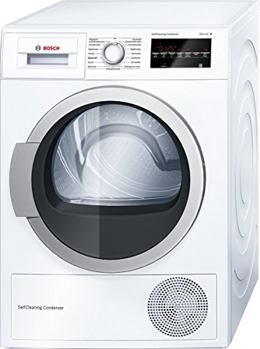 Bosch Pompes à Chaleur kondensationstrockner WTW 854 H0 trwp Ho E