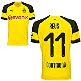 Puma BVB Borussia Dortmund Fußball Home Trikot 2018 2019 Herren Heimtrikot Marco Reus 11 Gr XL