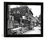Gerahmtes Bild von Jousset View of The Old Quarter, ULM,