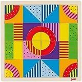 Goki - Mosaico el mundo de los colores, 43 piezas, de madera (Gollnest & Kiesel 58661.0)