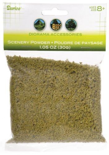 Scenario della polvere 30 grammi/Pkg-Dark Brown