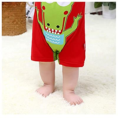 Amur Leopard Pijamas de Bebé 100% Algotón Ropa de Bebé para Dorimir Transpirable Fresco con Dibujo Adorable
