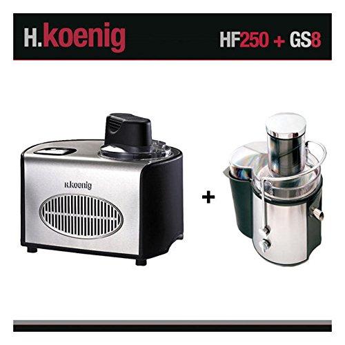 Turbine à glace et centrifugeuse HF250 et GS8 H.Koenig