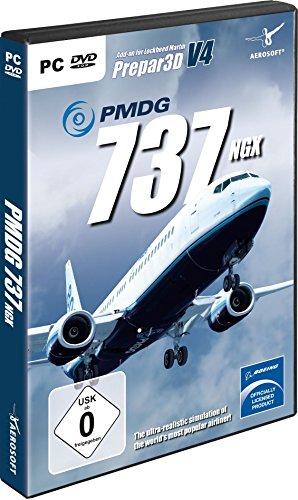 PMDG 737-8900 NGX Base Package für  P3D V3/V4 Standard [Windows 7] V3 Dvd