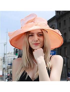 HONEY De Las Mujeres Del Visera Del Sombrero Plegable De Sun Transpirable Sombrero Al Aire Libre Del Verano Sombrero...