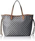 JOOP! Damen Cortina Lara Shopper Xlho Schultertasche, Grau (Grey), 20 x 33 x 40 cm