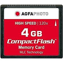 Agfaphoto Alta Velocidad 120X Mlc Compactflash (Cf) 4 Gb Tarjeta De Memoria