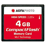 AgfaPhoto 120x High Speed MLC Compact Flash 4 GB Speicherkarte