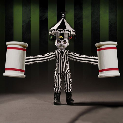 Mezco Toys Living Dead Dolls Beetlejuice muñeca, 696198947007
