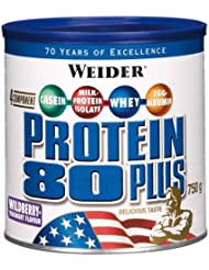 Weider 80 Plus Protein, Waldfrucht-Joghurt, 750g Dose