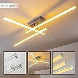 Lámpara de techo LED Georgina minimalista – 3000 Kelvin blanco cálido – 3x 15W – 1500 Lumens en total