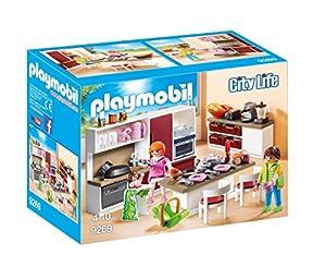 Playmobil Casa Moderna-9269 Cocina, (9269)