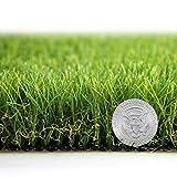 Shaddock Fishing Kunstrasen-Teppich, dick, synthetischer Rasen-Teppich, für drinnen und draußen,...